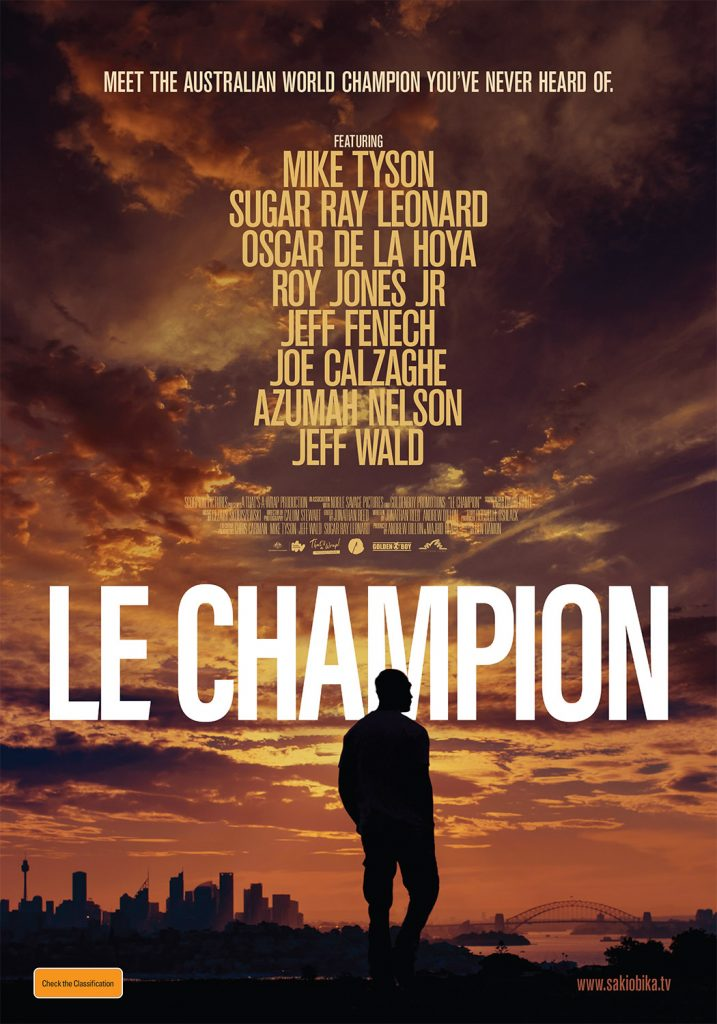 Key art for Le Champion